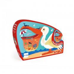 Pelican puzzle, 24 pieces