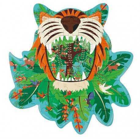 Puzzle Tigre, 59 pièces