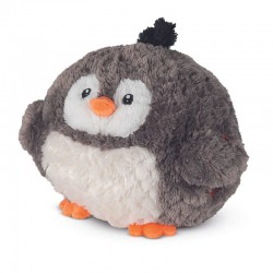 Peluche, coussin, chauffe mains, le Pingouin