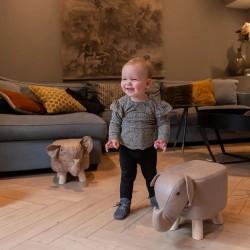 Tabouret enfant en forme éléphant