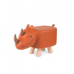 Tabouret enfant en forme de Rhinoceros