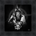 Tableau Punk's not dead par Sylvain Binet