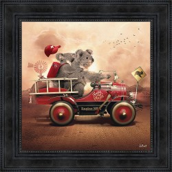 Koala painting by Sylvain Binet