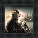 Tableau Lion New-York par Sylvain Binet