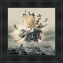 Tableau Arche de Noë par Sylvain Binet