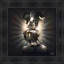 Mickey dog painting by Sylvain Binet