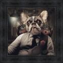 Tableau Chien Mafia par Sylvain Binet
