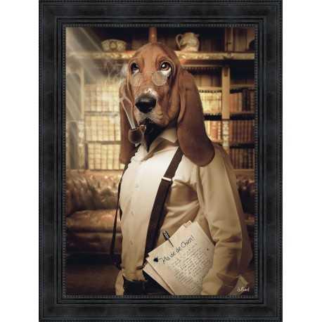 Basset hound by Sylvain Binet