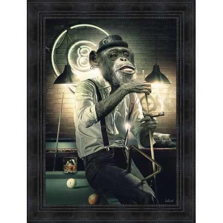 Monkey Billard by Sylvain Binet