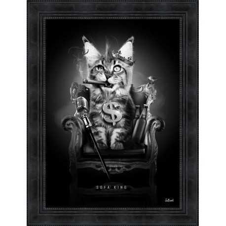 Sofa KIng Cat by Sylvain Binet