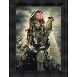 Tableau Monkey Sparrow par Sylvain Binet