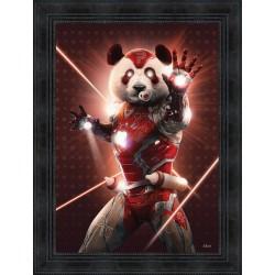 Iron Panda Cat by Sylvain Binet