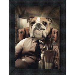 Mafia dog Cat by Sylvain Binet
