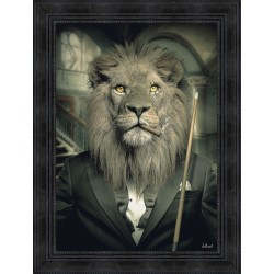 Tableau Lion Mafia par Sylvain Binet