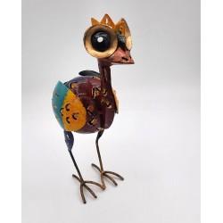 Emeu artisanal en métal