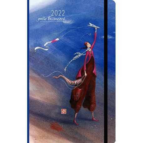 Agenda 2022 illustration Gaëlle Boissonnard, le vent