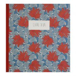 Guest book cotton paper cover