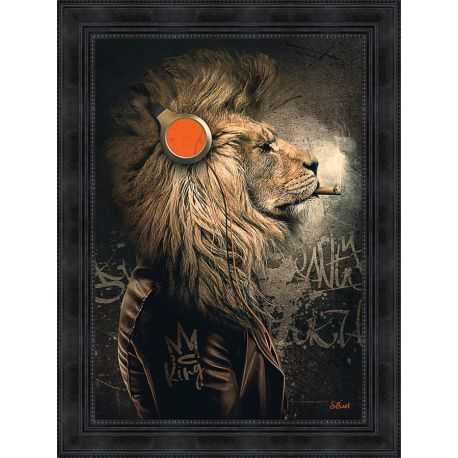 Lion Punk by Sylvain Binet