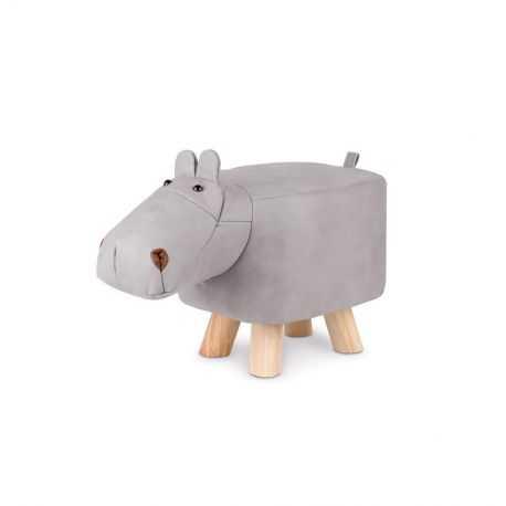 Tabouret enfant en forme d'Hippopotame