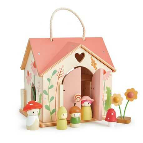 The pink chalet