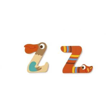 Wooden letter Z for child