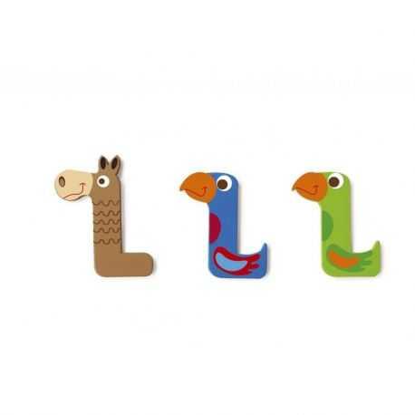 Wooden letter L for child