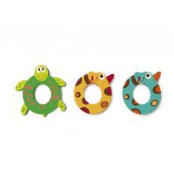 Wooden letter O for child