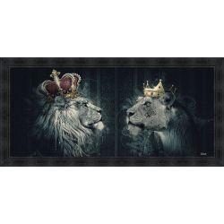 Tableau Lions couronnés par Sylvain Binet