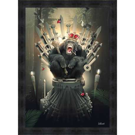 King Of Thrones painting by Sylvain Binet