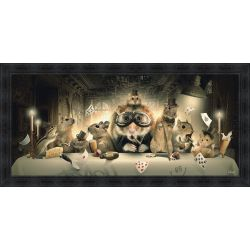 The Last Supper painting by Sylvain Binet