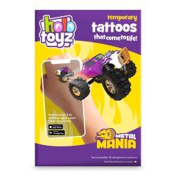 HoloToyz, tatouage éphémère, thème Métal mania