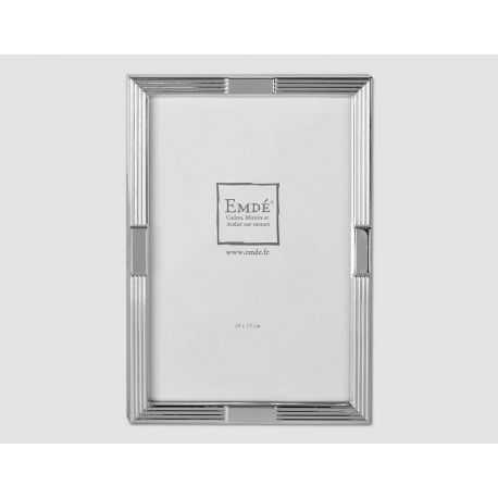 Silver staircase frame size 13x18 cm