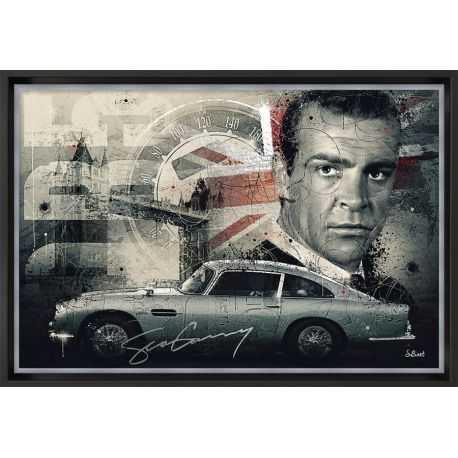 Tableau Sean Connery par Sylvain Binet