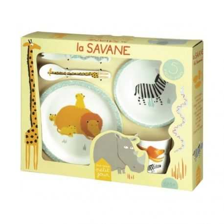 Baby tableware gift set, 5 pieces