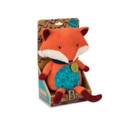 Plush Talkative Fox - happy yappies pipsqueak