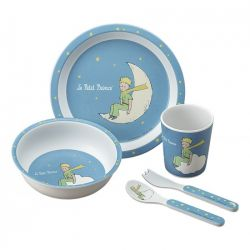 The little prince dinnerware gift set, 5 pieces