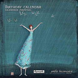 Perpetual calendar illustration Gaëlle Boissonnard