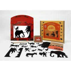 Théâtre d'ombres, les contes des animaux
