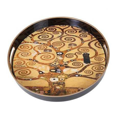 Plateau rond, l'arbre de vie G. Klimt