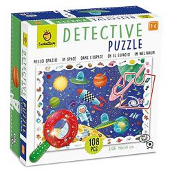 Detective puzzle in space 108 pieces