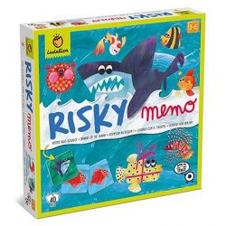 Jeu risky memo attention au requin