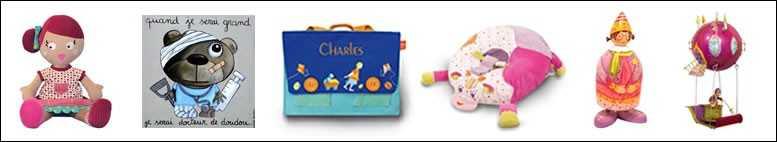 Les rayons enfants, jouets et décoration pour enfants
